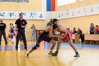 Чемпионат НСО по греко-римской борьбе 05042017