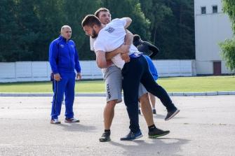 УТС сборной России по греко-римской борьбе к чемпионату мира, август 2017
