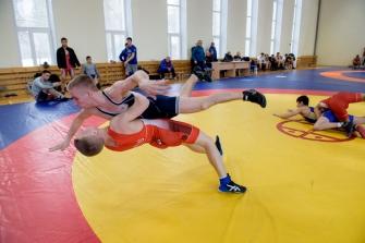 УТС команды НСО по греко-римской борьбе перед первенством России среди юниоров до 21 года