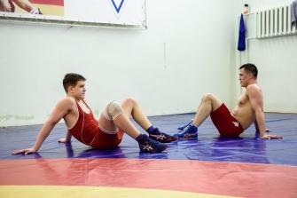 Тренировка Романа Власова в