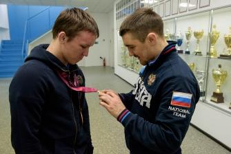 Виктор Ведерников и Сергей Степанов