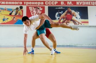 Тренировка Р. Власова в СК