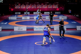 Чемпионат Европы по спортивной борьбе, Каспийск, 30.04-06.05.2018г.