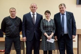 Подведение итогов Федерации спортивной борьбы Новосибирской области, 28.12.2017