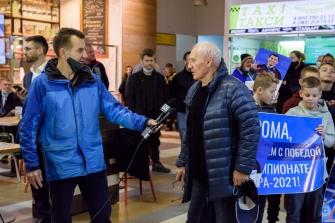 Встреча Романа Власова в аэропорту Толмачёво (Новосибирск) с чемпионата мира-2021 (13.10.2021)_4