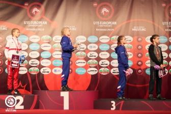 Первенство Европы по женской борьбе среди девушек в возрасте до 15 лет, 27-29.06.2019 (Краков, Польша)