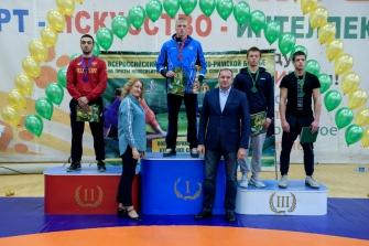 I Всероссийский турнир по греко-римской борьбе на призы